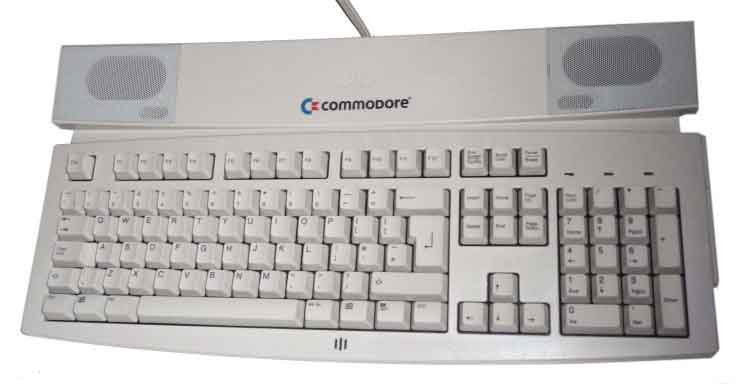 Scan of Document: Commodore SK-5002W Multimedia Keyboard