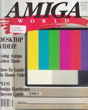 Scan of Document: Amiga World - March 1988
