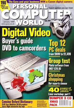 Scan of Document: Personal Computer World - January 1999