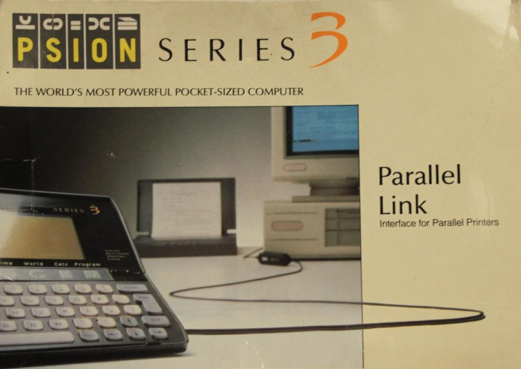 Scan of Document: Psion Series 3 Parallel Link