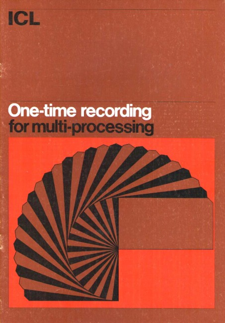Scan of Document: ICL 80 One-Time recording for multi-processing