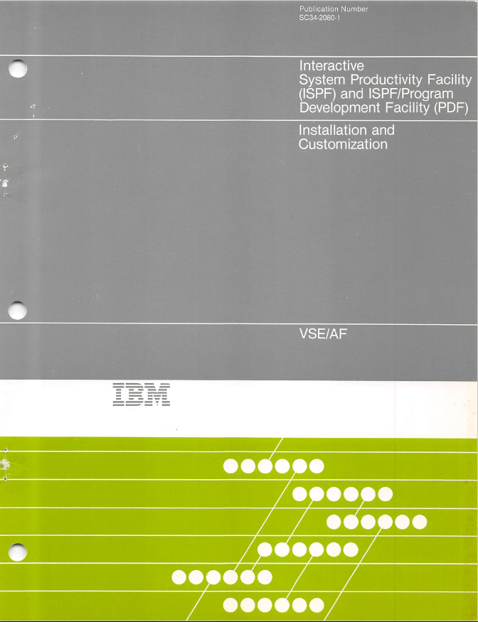 IBM - Interactive System Productivity Facility (ISPF) and