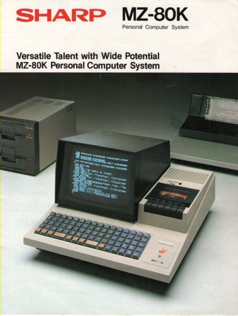 Scan of Document: Sharp MZ-80K Personal Computer System