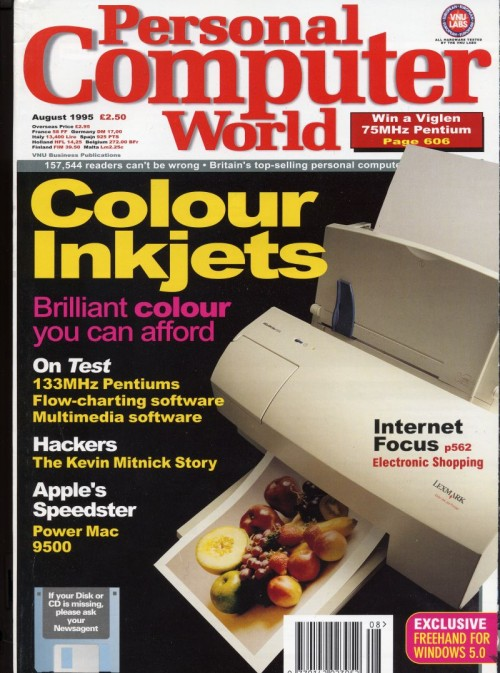 Scan of Document: Personal Computer World - August 1995