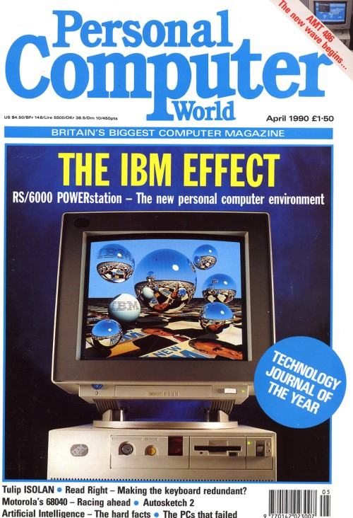 Scan of Document: Personal Computer World - April 1990