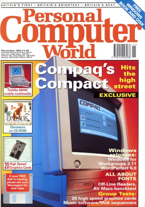 Scan of Document: Personal Computer World - November 1993