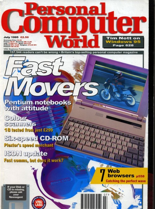 Scan of Document: Personal Computer World - July 1995