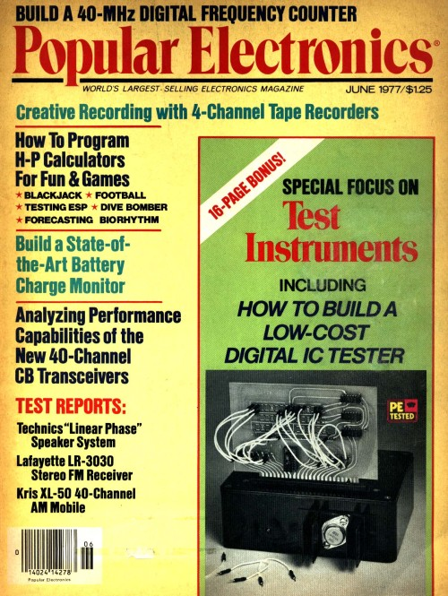 Scan of Document: Popular Electronics - June 1977