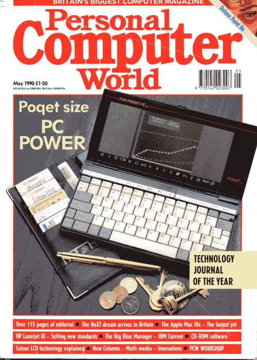 Scan of Document: Personal Computer World - May 1990
