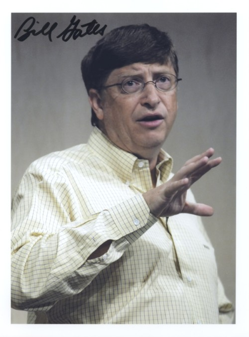 Photograph of Bill Gates