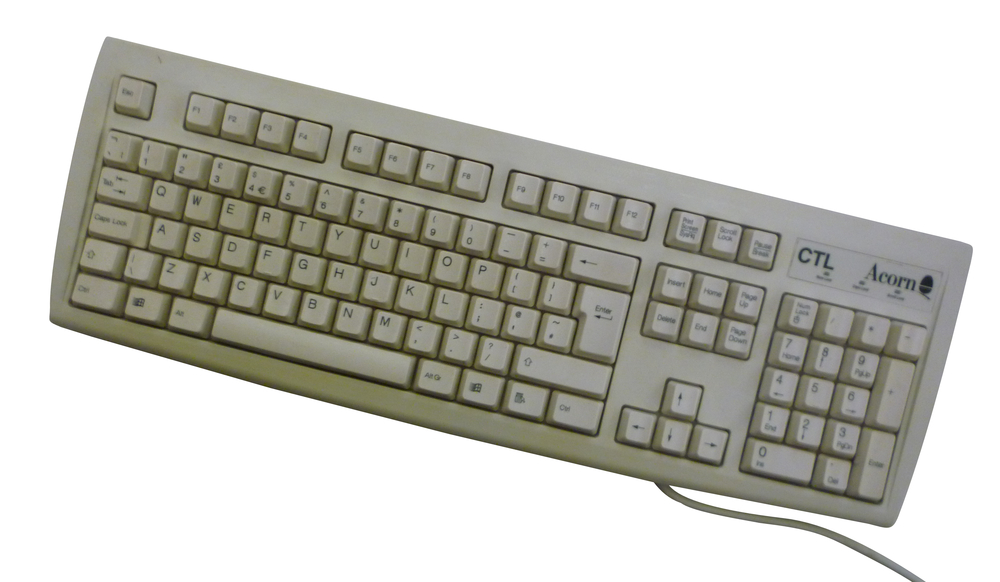 Scan of Document: Castle RISC PC Keyboard