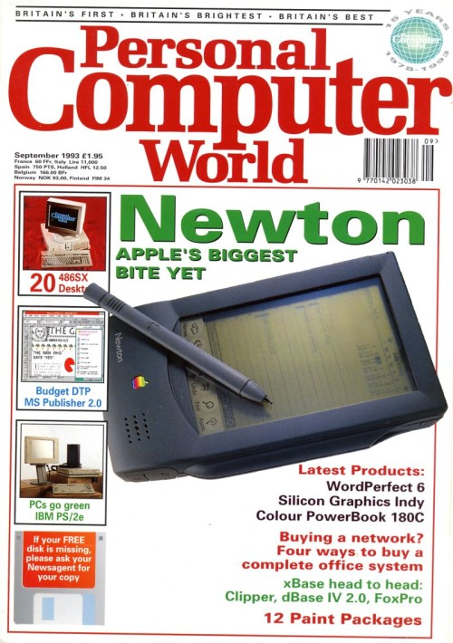 Scan of Document: Personal Computer World - September 1993