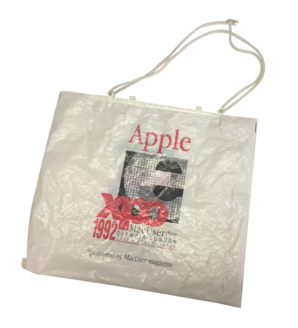 Scan of Document: Apple Expo 1992 Carrier Bag