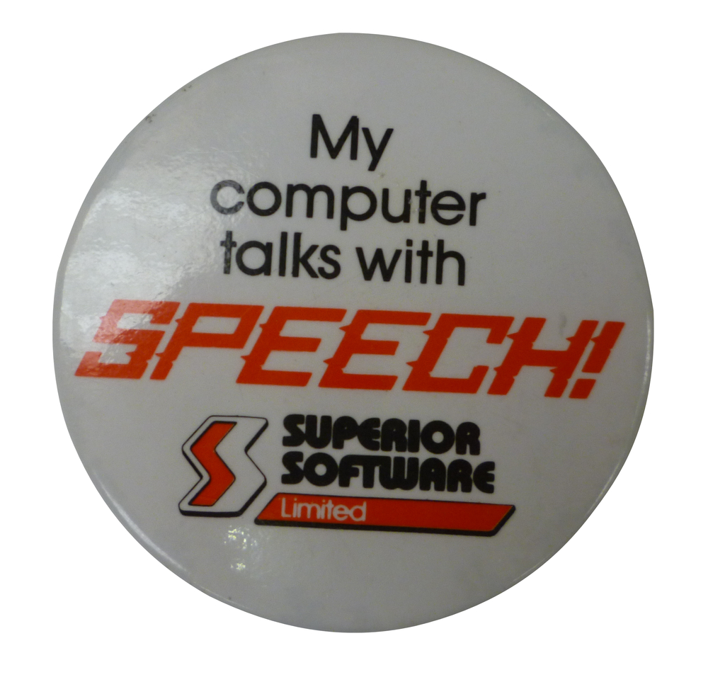 Scan of Document: Superior Software Badge