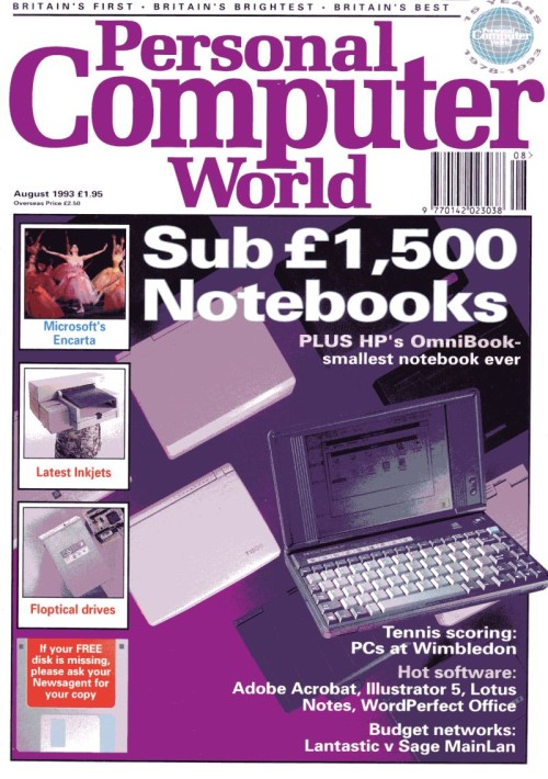 Scan of Document: Personal Computer World - August 1993