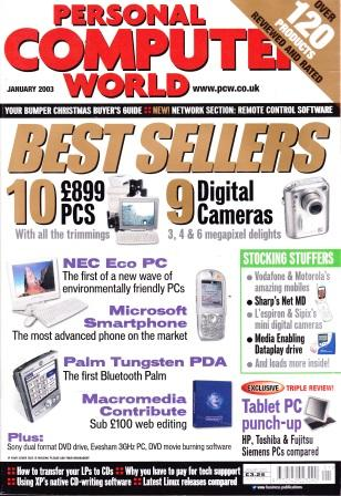 Scan of Document: Personal Computer World - January 2003
