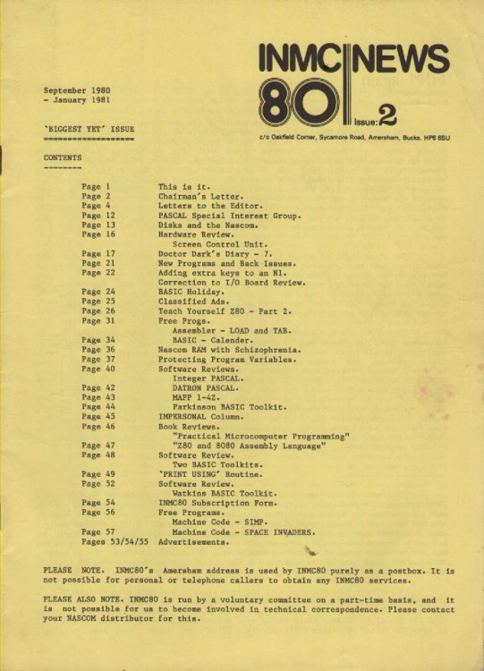 Scan of Document: INMC 80 News Issue 2