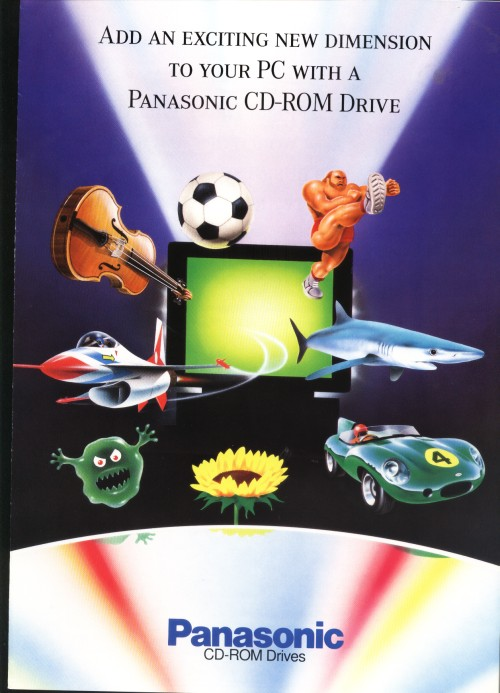 Scan of Document: Panasonic - CD-ROM Drives