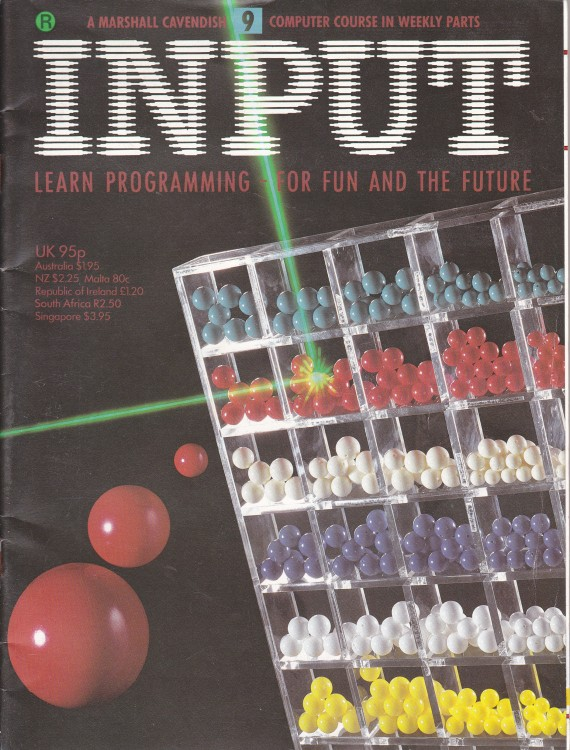 Scan of Document: Input - Issue 9