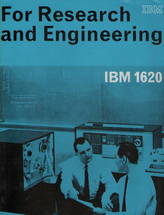 Scan of Document: IBM 1620 for Research & Engineering