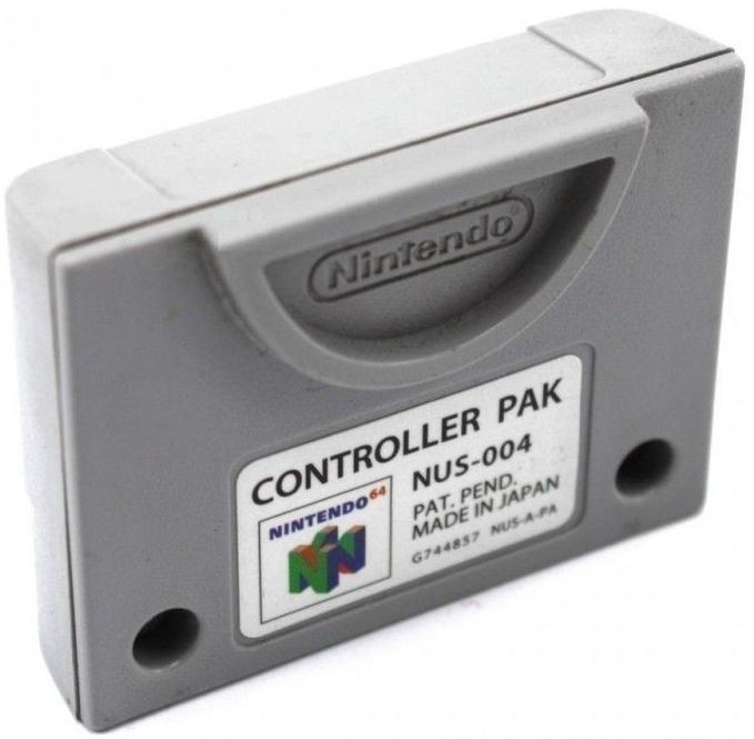 Scan of Document: Nintendo 64 Controller Pak