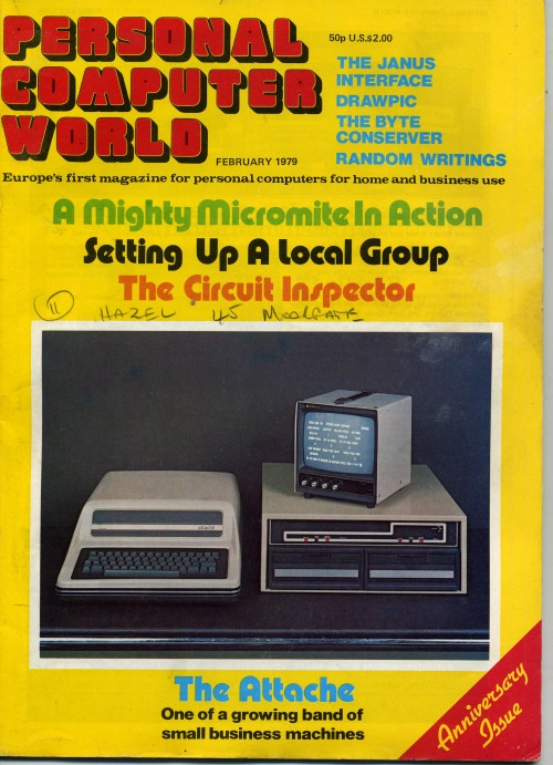 Scan of Document: Personal Computer World - February 1979