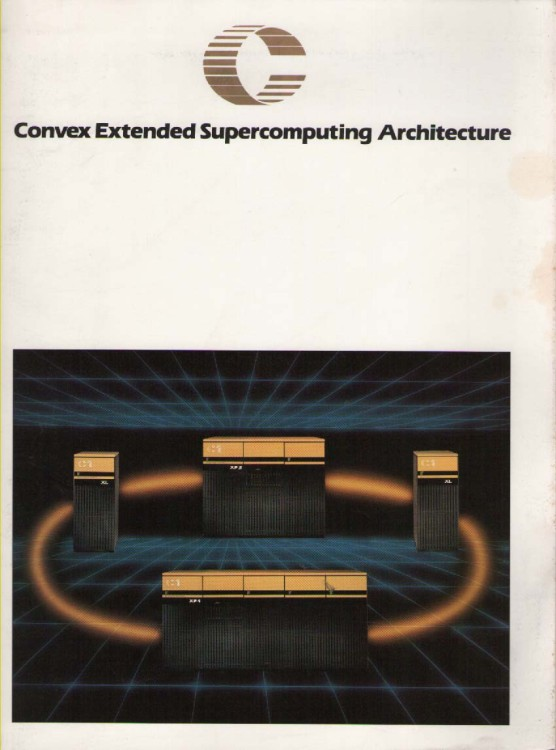 Scan of Document: Convex Super-computing Architecture & Products
