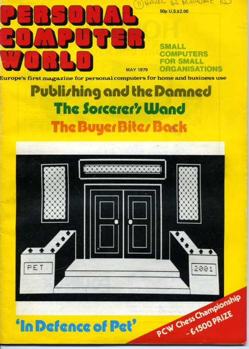 Scan of Document: Personal Computer World - May 1979