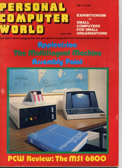 Scan of Document: Personal Computer World - June 1979