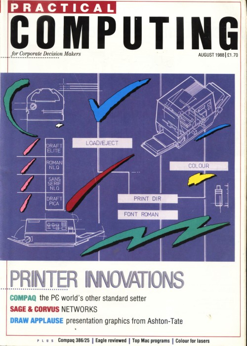 Scan of Document: Practical Computing - August 1988