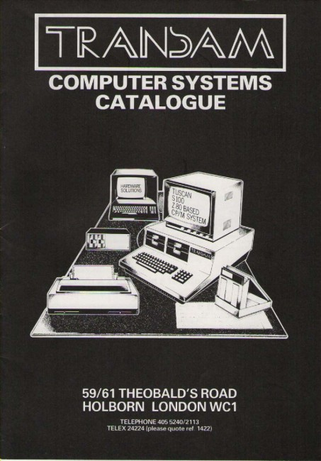 Scan of Document: Transam Computer Systems Catalogue