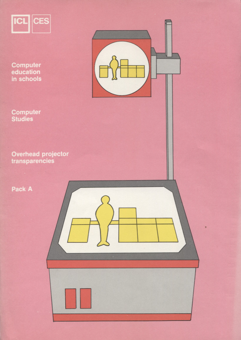 Scan of Document: ICL CES Overhead Projector Transparencies