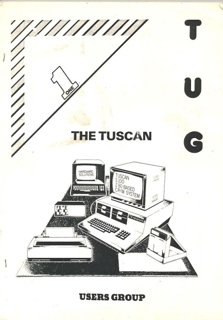 Scan of Document: TUG The Tuscan Users Group Newsletter No 1