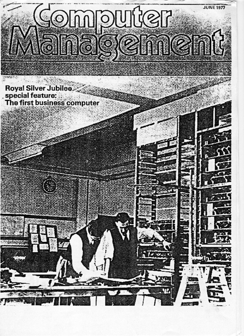 Article: The First Business Computer