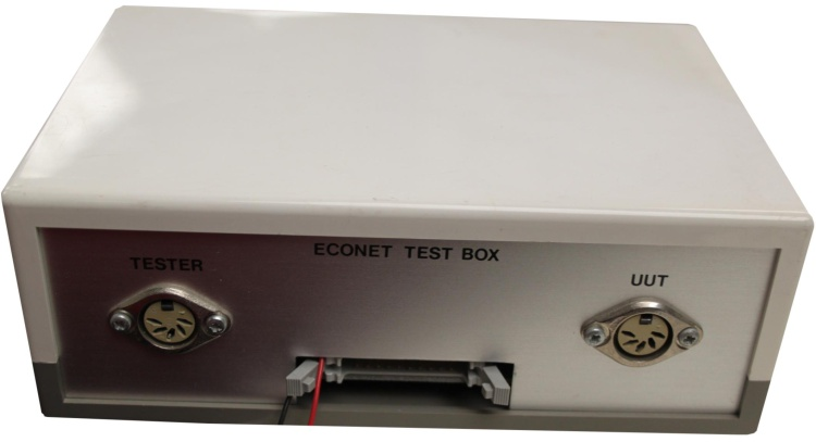 Scan of Document: Acorn Econet Test Box