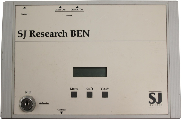 Scan of Document: SJ Research BEN
