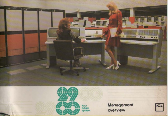 Scan of Document:  ICL 2900 Series Management Overview