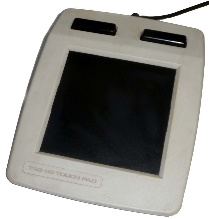Scan of Document: TRS-80 Touch Pad