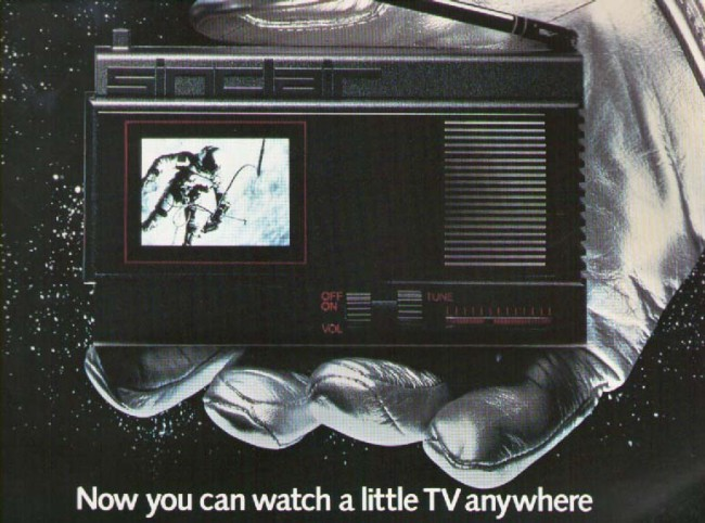 Scan of Document: Sinclair Flat Screen Pocket TV