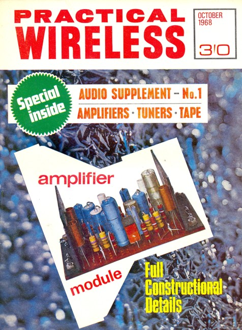 Scan of Document: Practical Wireless - October 1968