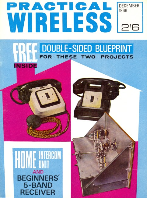 Scan of Document: Practical Wireless - December 1966