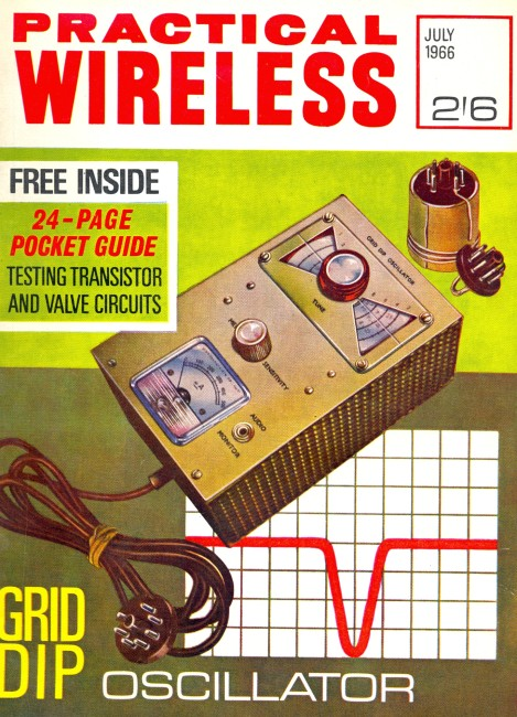 Scan of Document: Practical Wireless - July 1966