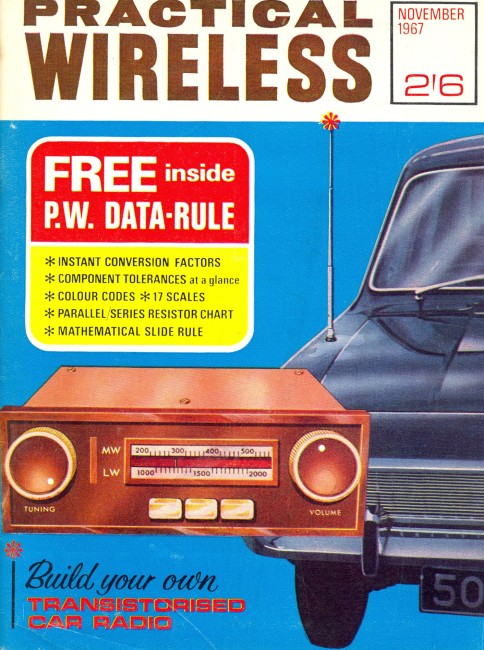 Scan of Document: Practical Wireless - November 1967