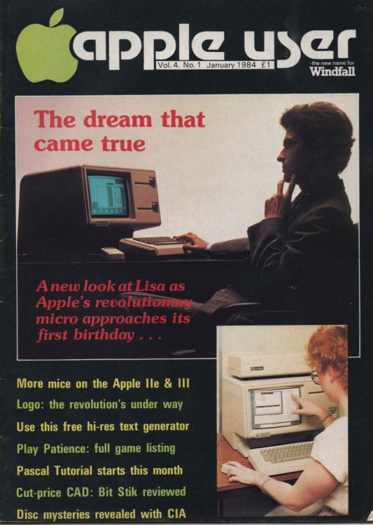 Scan of Document: Apple User – January 1984