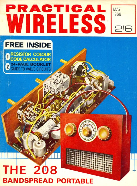 Scan of Document: Practical Wireless - May 1966