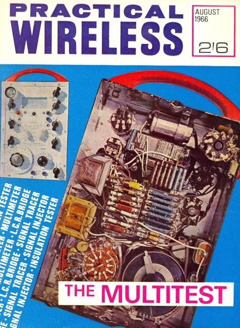 Scan of Document: Practical Wireless - August 1966