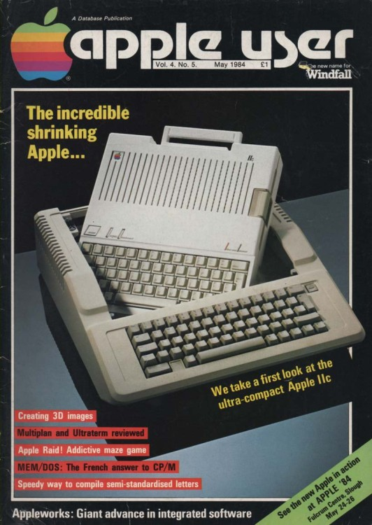 Scan of Document: Apple User – May 1984