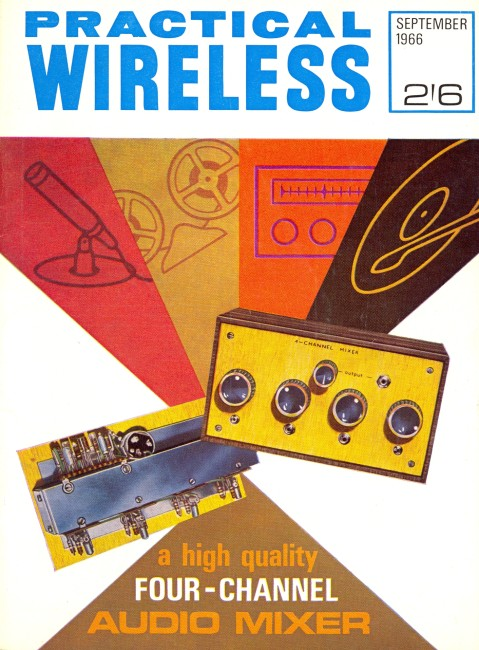 Scan of Document: Practical Wireless - September 1966