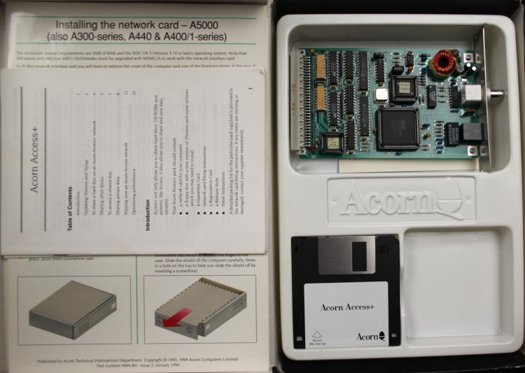 Scan of Document: Acorn AEH75 Access Upgrade