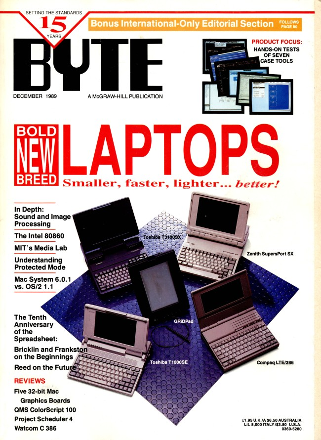 Scan of Document: Byte December 1989